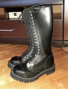 Продаю готические ботинки rock Steel style 37 размера